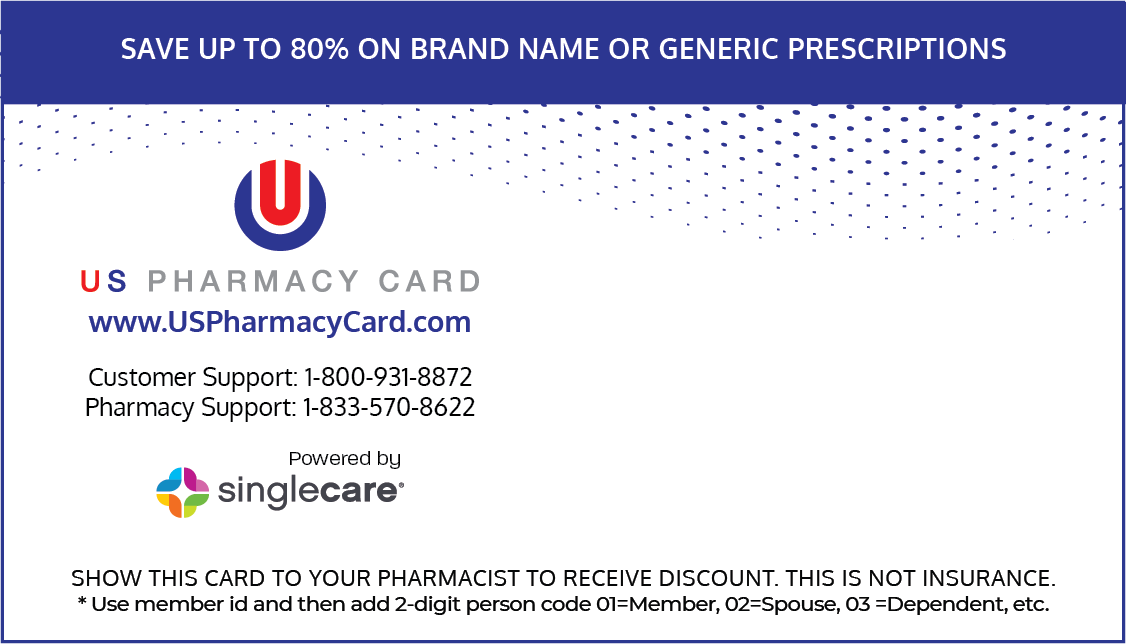 US Pharmacy Card - SingleCare - My RX Card